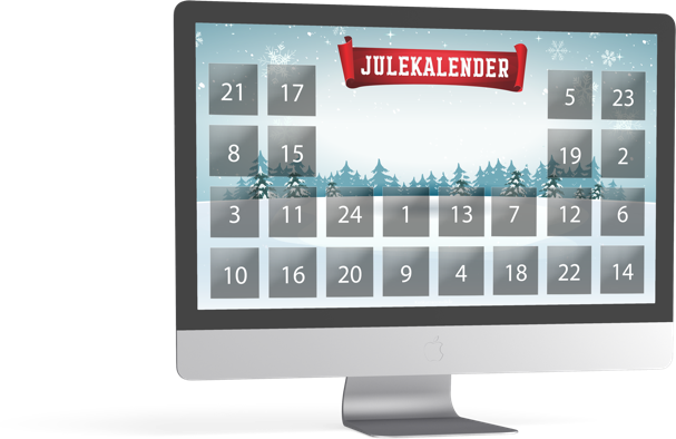 Få flere leads og permissions med en digital julekalender